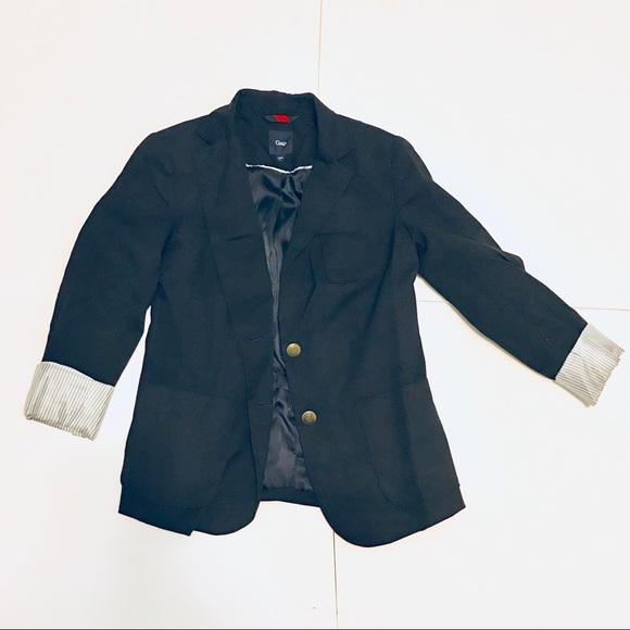 GAP Jackets & Blazers - GAP Navy Classic Cuffed Women's Blazer